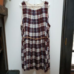 Modcloth Great Wavelengths Dress in Plaid
